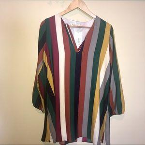 Striped Dress - Great Fall Transition Piece 🍂
